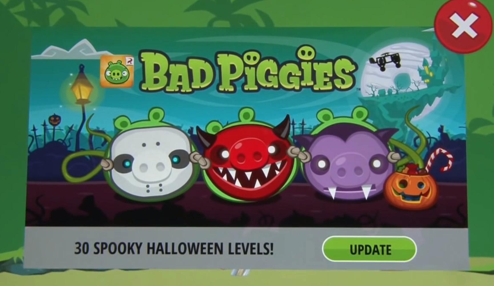 angry birds online games angry birds bad pigs halloween game