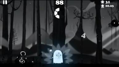 Darklings graphics reminds Badland and Limbo style