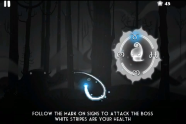 Darklings is an arcade game about some magic world